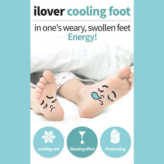 cooling foot