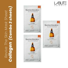 labute face mask sheet collagen combo