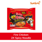 fire chicken spicy noodles pack