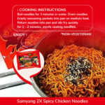 fire chicken spicy noodles
