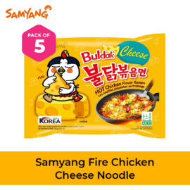 fire chicken cheese noodles