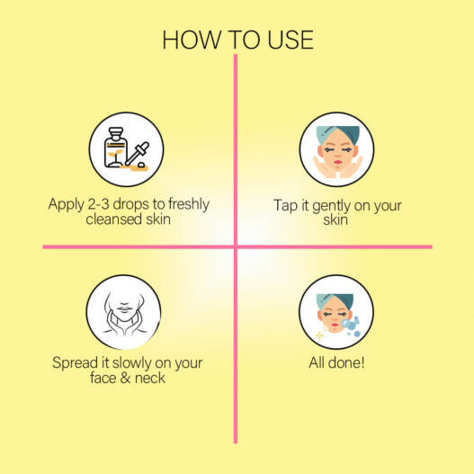 serum vc effector its skin how to use
