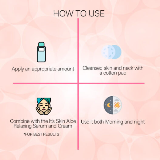 toner its skin how to use