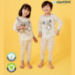 My Elephant Organic Long-Sleeve Jaqcuard Set
