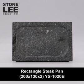 Premium Stone Rectangle Steak Cookware & Serveware Pan