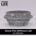 stone pot without lid