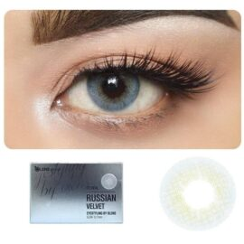 color contact lens blue
